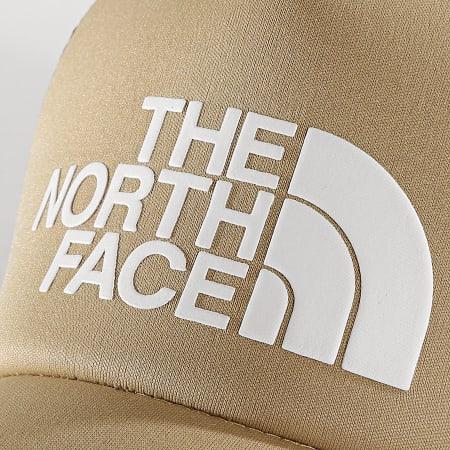 The North Face - Casquette Trucker TNF Logo 3FM3EJ7 Beige Noir