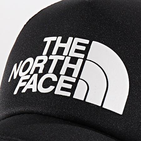 The North Face - Casquette Trucker Logo 3FM3 Noir Blanc