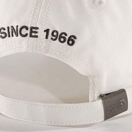 The North Face - Casquette 66 Classic CF8C Blanc Cassé Gris