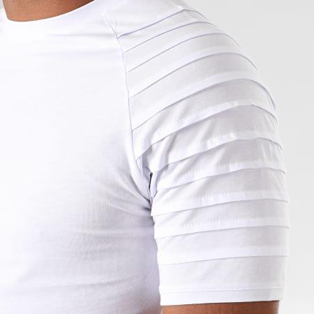 LBO - Ensemble Tee Shirt Et Pantalon Jogging Bicolore 824 Noir Blanc