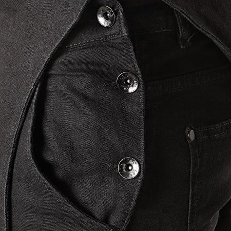 LBO - Salopette en Jean Slim 811 Noir
