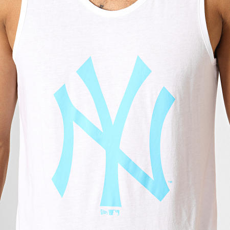 New Era - Débardeur Estl Neon Logo New York Yankees 12149707 Blanc