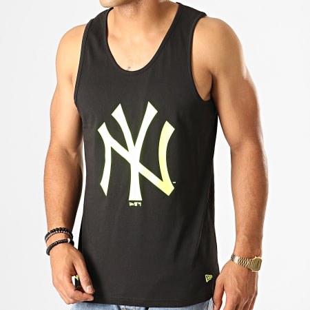 New Era - Débardeur Estl Neon Logo New York Yankees 12149708 Noir