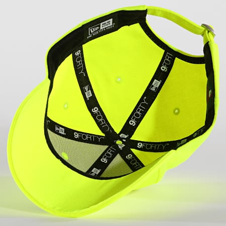 New Era - Casquette 9Forty Neon Basic 12150294 New York Yankees Jaune Fluo