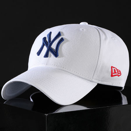 New Era - Casquette 9Forty League Essential 12150300 New York Yankees Blanc Bleu