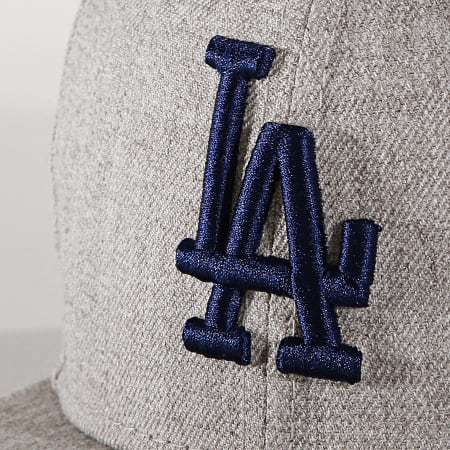 New Era - Casquette Fitted 59Fifty 12040473 Los Angeles Dodgers Gris Chiné