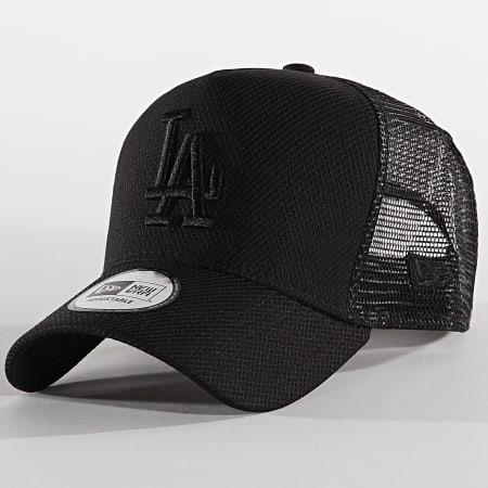 New Era - Casquette Trucker Diamond Era 12040558 Los Angeles Dodgers Noir