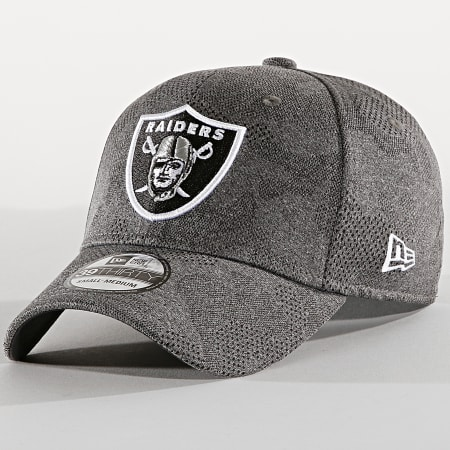 New Era - Casquette Fitted 39Thirty Engineered Plus 12040602 Oakland Raiders Gris