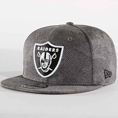 New Era - Casquette Snapback 9Fifty Engineered Fit 12040607 Oakland Raiders Gris