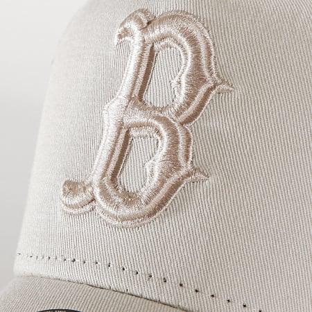 New Era - Casquette Enfant Trucker League Essential 12061646 Boston Red Sox Ecru Bleu Marine