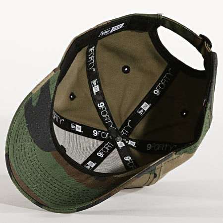 New Era - Casquette Enfant 9Forty Camo Essential 12061711 Los Angeles Dodgers Camouflage Vert Kaki