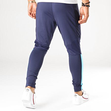 Puma - Pantalon Jogging OM Pro 755834 Bleu Marine Bleu Ciel