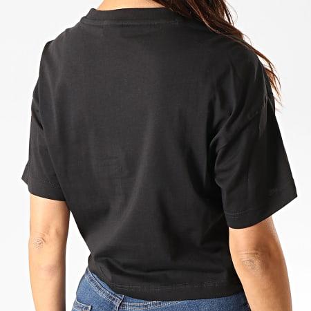 Reebok - Tee Shirt Crop Femme Classics Vector FK3378 Noir