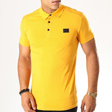 Antony Morato - Polo Manches Courtes Abbigliamento  MMKS01419 Jaune Moutarde
