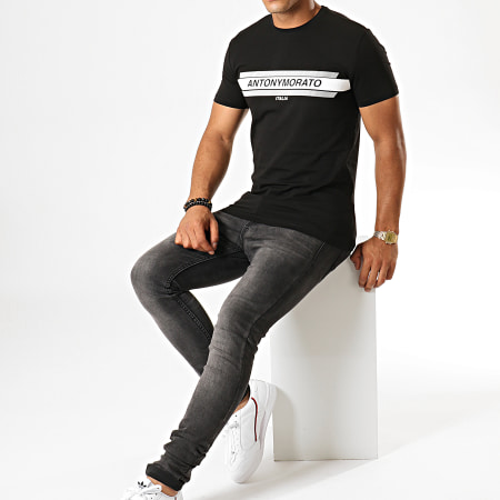 Antony Morato - Tee Shirt MMKS01612 Noir