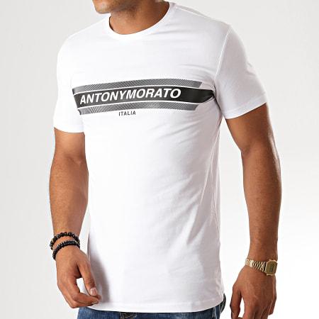 Antony Morato - Tee Shirt MMKS01612 Blanc