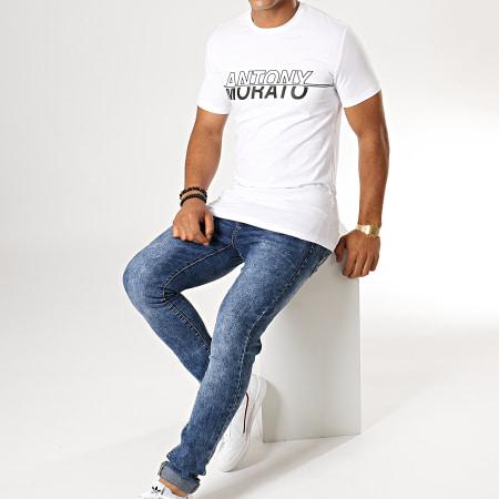 Antony Morato - Tee Shirt Abbigliamento MMKS01610 Blanc