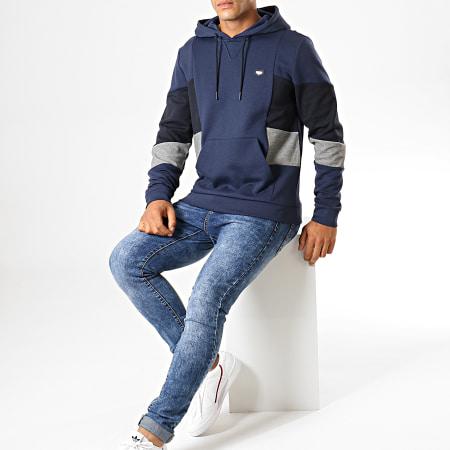 Antony Morato - Sweat Capuche MMFL00572 Bleu Marine