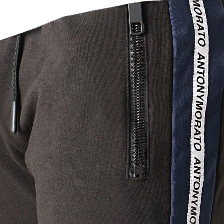 Antony Morato - Pantalon Jogging A Bandes MMFP00258 Noir