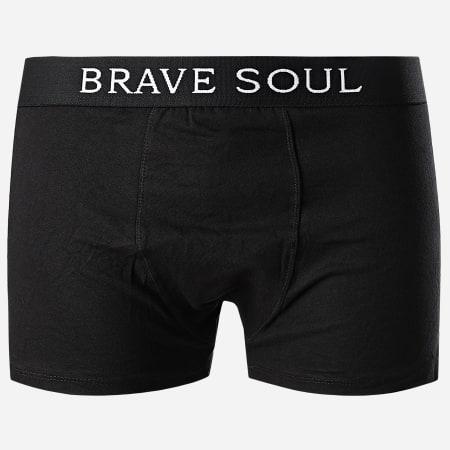 Brave Soul - Lot De 3 Boxers Luke Noir