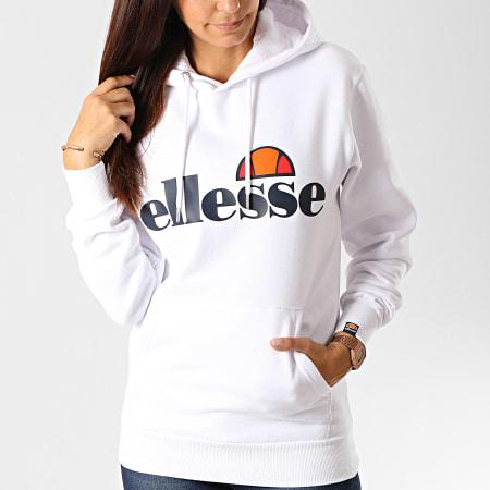 Ellesse - Sweat Capuche Femme Torices Oh SGS03244 Blanc