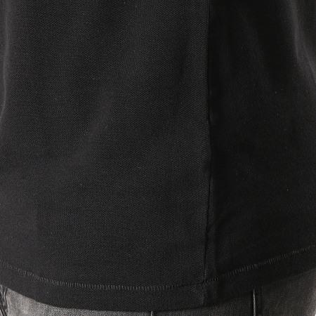 Guess - Polo Manches Courtes M94P24-K93N0 Gris Chiné Blanc Noir