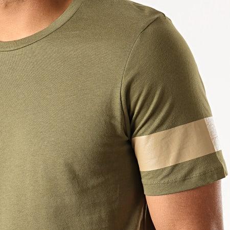 Jack And Jones - Tee Shirt Oversize Reflect Vert Kaki