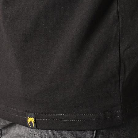 Venum - Tee Shirt Oktagon 03872 Noir doré Argenté