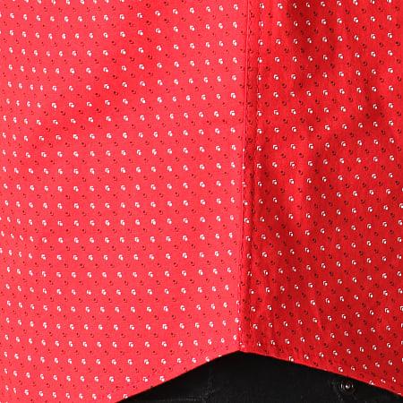 Black Needle - Chemise Manches Courtes Y-3397 Rouge