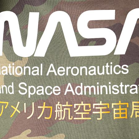 NASA - Sweat Capuche Admin 2 Camouflage Vert Kaki
