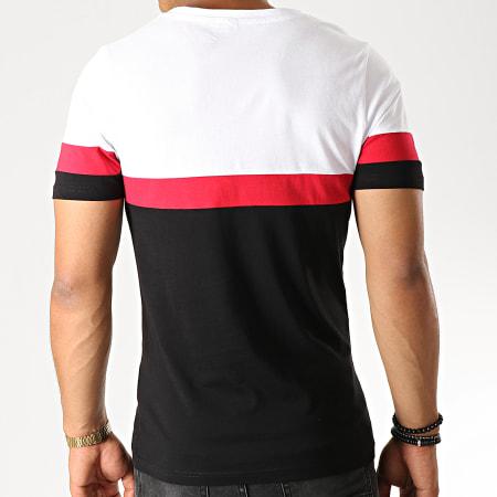 Sofiane - Tee Shirt Affranchis Music Tricolore Noir Blanc Rouge