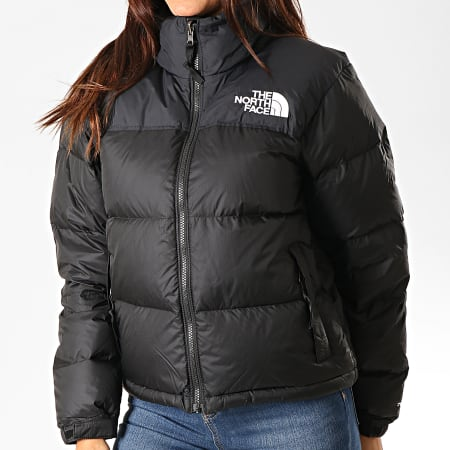 The North Face - Doudoune Femme 1996 Retro Nuptse 3XEO Noir