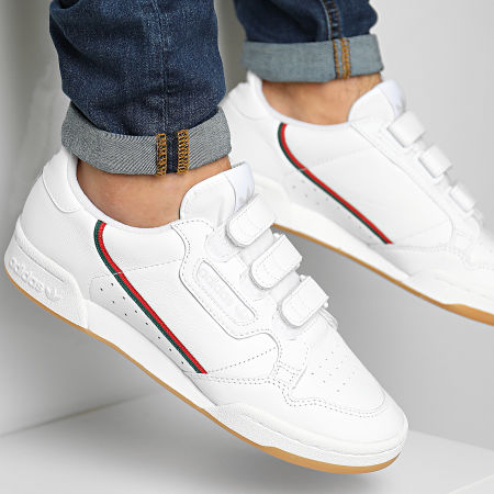 Adidas Continental 80 Strap White EE5359