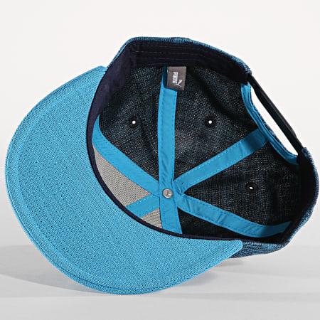 Puma - Casquette Snapcback OM Bleu Ciel
