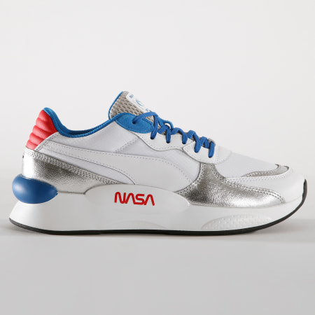 Puma - Baskets RS 9 8 Space Agency 372509 Puma White Puma Silver