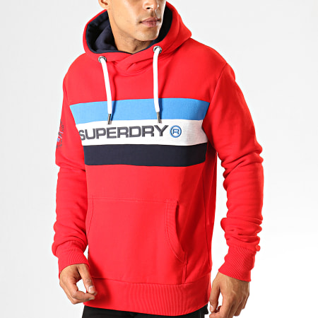 Superdry Sweat Capuche Trophy Classic M2000054B Rouge