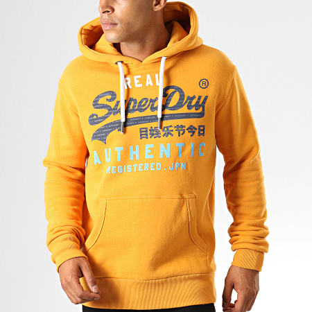 Superdry Sweat Capuche Vintage Authentic M2000069B Jaune