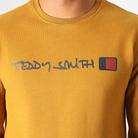 Teddy Smith - Sweat Crewneck Strat Camel