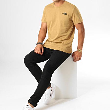 The North Face - Tee Shirt Simple Dome 2TX5 Vert Kaki