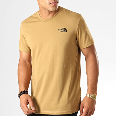 The North Face - Tee Shirt Simple Dome 2TX5 Camel