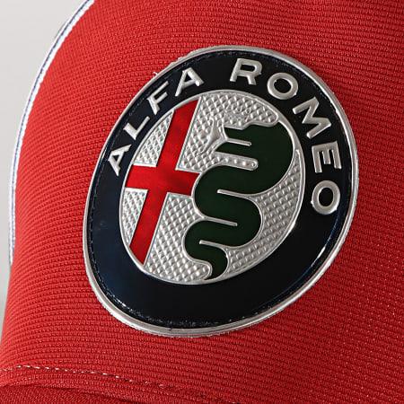 Alfa Romeo Racing - Casquette Team Cap Curved AFRCP51 Rouge Bleu Marine