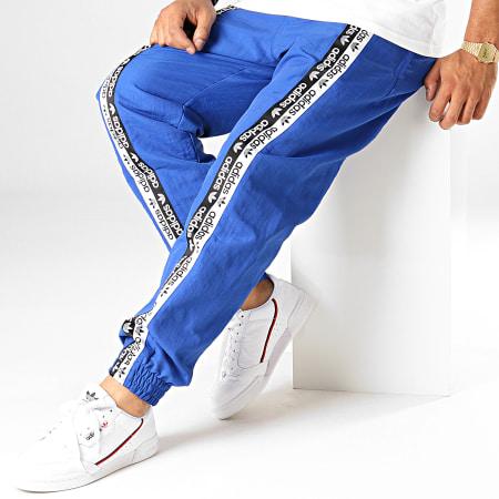 adidas - Pantalon Jogging A Bandes Vocal ED7143 Bleu Roi Blanc Noir