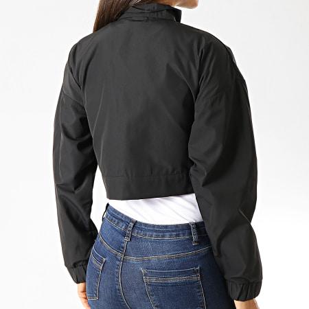 adidas - Veste Zippée Crop Femme ED7444 Noir