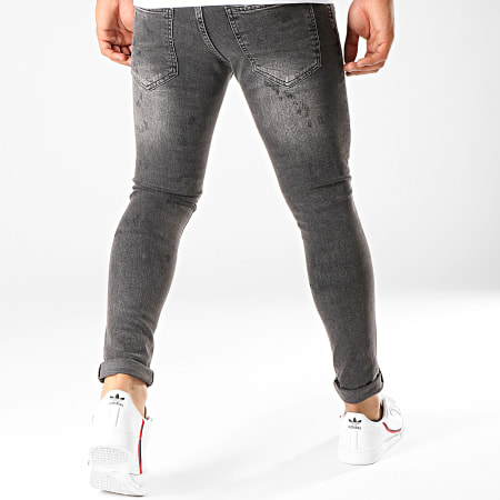Uniplay - Jean Slim 102 Gris Anthracite