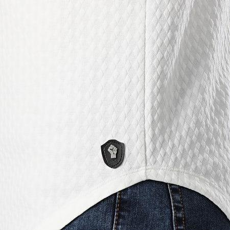 Uniplay - Tee Shirt Oversize Manches Longues UY429 Ecru