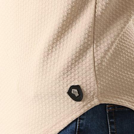 Uniplay - Tee Shirt Manches Longues Oversize UY428 Beige
