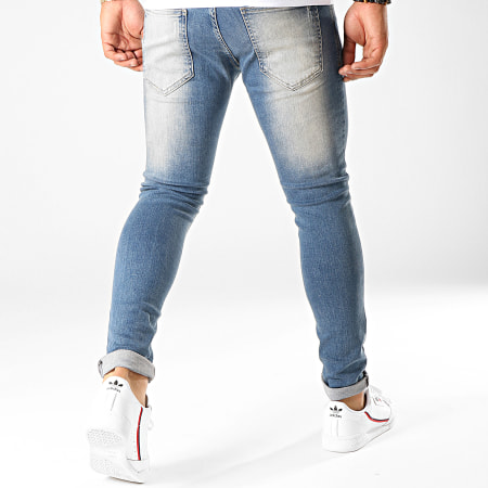 Uniplay - Jean Slim 105 Bleu Denim