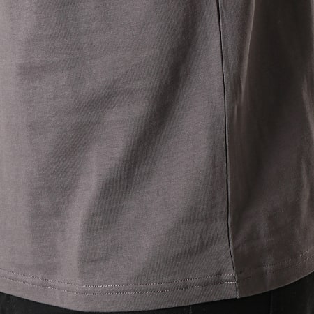 Fred Perry - Tee Shirt Ringer M3519 Gris Anthracite Noir