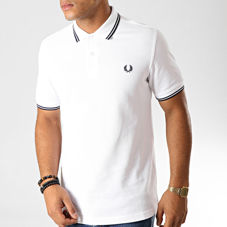 Fred Perry - Polo Manches Courtes Twin Tipped