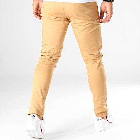 Mackten - Pantalon Chino MKP-104 Camel Clair